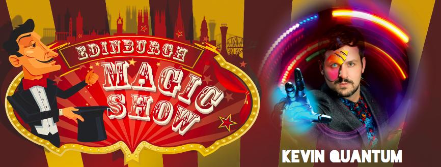Kevin Quantum Edinburgh Magic Show