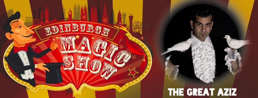 The Great Aziz Edinburgh Magic Show